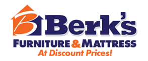 Berk's Furniture & Mattress Logo